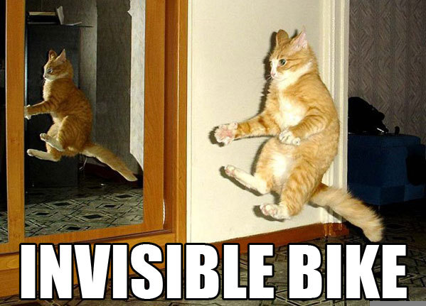 invisible bike classic lol cat macro