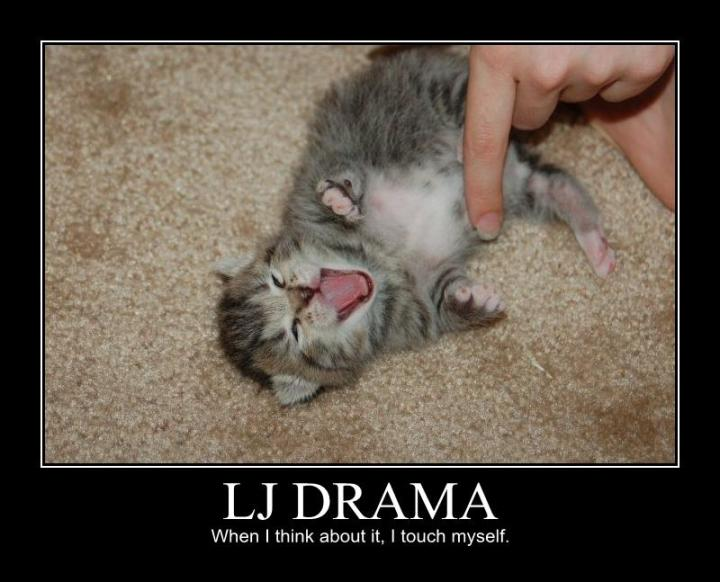 lj livejournal drama touch myself kitten lol cat macro