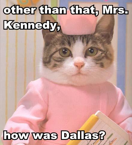 dallas jackie kennedy jfk lol cat macro