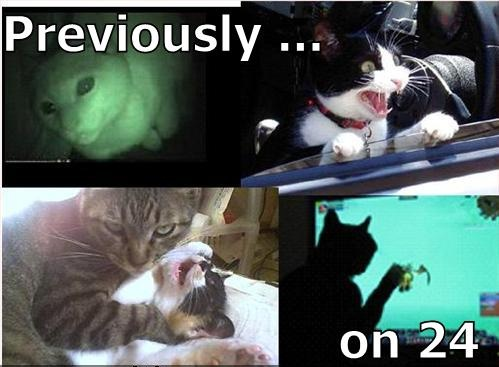 previously on 24 split screen jack bauer drama lol cat macro