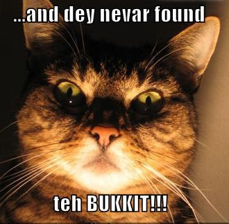 scary ghost story lolrus bucket saga bukkit lol cat macro