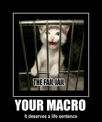 fail jail prison life sentence behind bars kitten lol cat macro