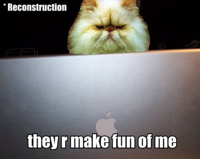 they r make fun of me funny lol cat macro