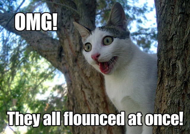 flounce flouncy tree butthurt internets lol cat macro