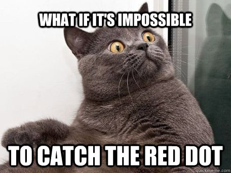 red dot lolcat mission impossible laser surprise